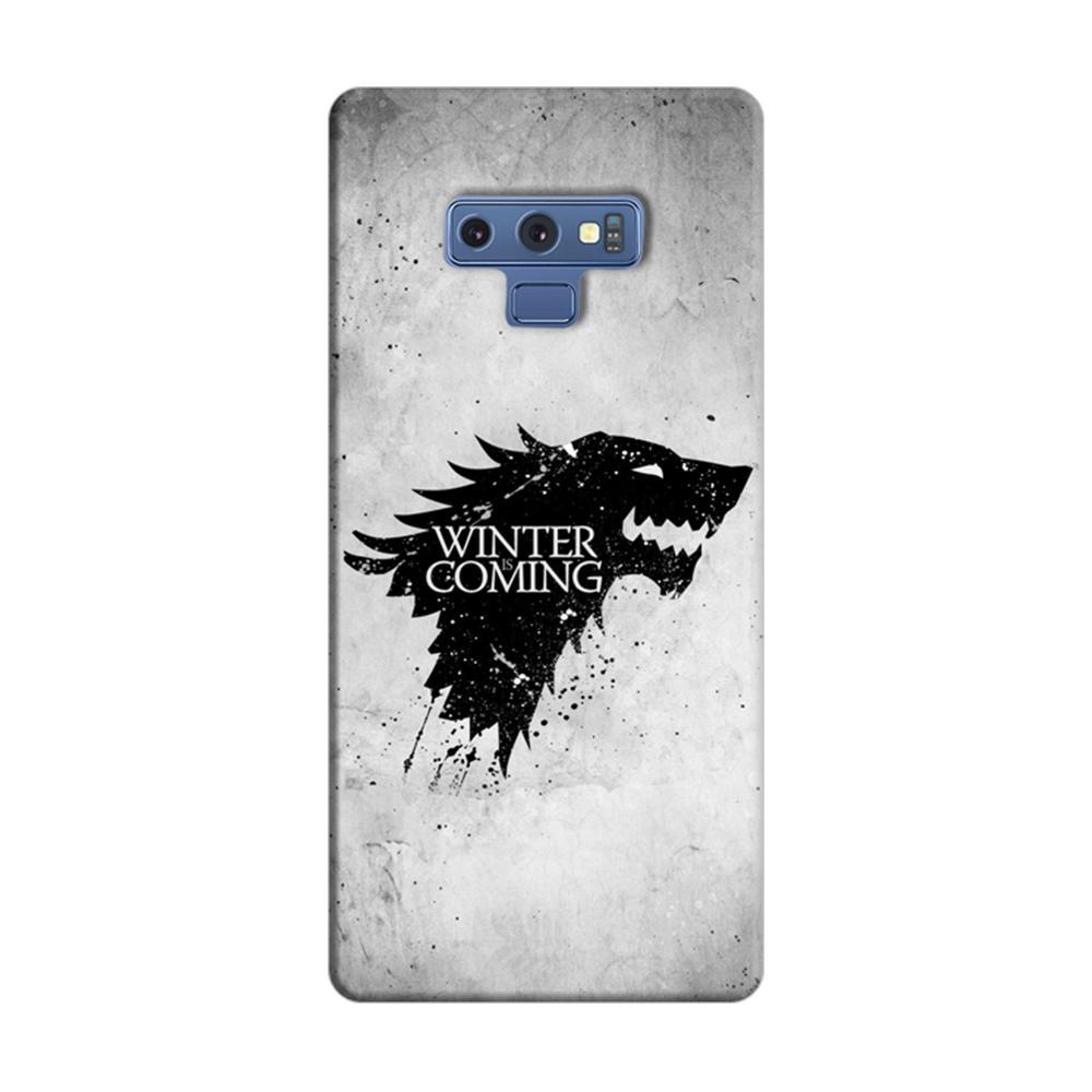 online store 0c96d 1e25d Mangomask Samsung Galaxy Note 9 Mobile Phone Case Back Cover Custom Printed  Designer Series White Winter Is Coming Game Of Throne (Got) House Stark