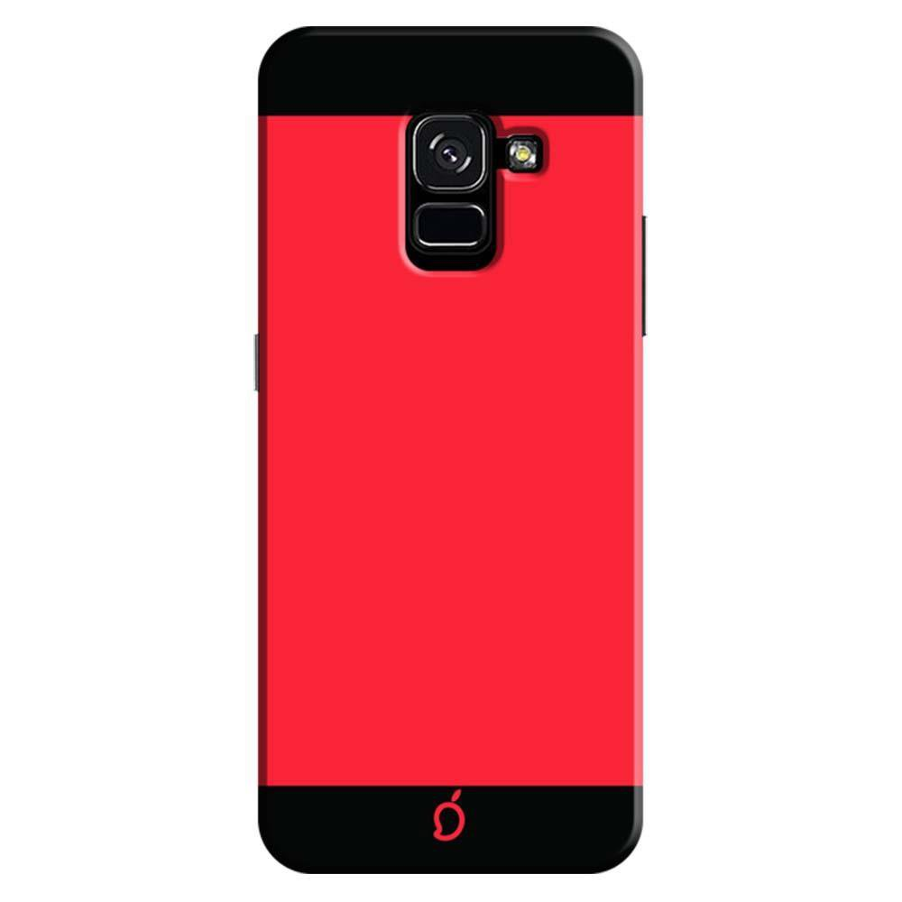 best sneakers 0ffae d4f02 Mangomask Gionee A1 Lite Mobile Phone Case Back Cover Custom Printed Neon  Series Carmine Red Striped 2