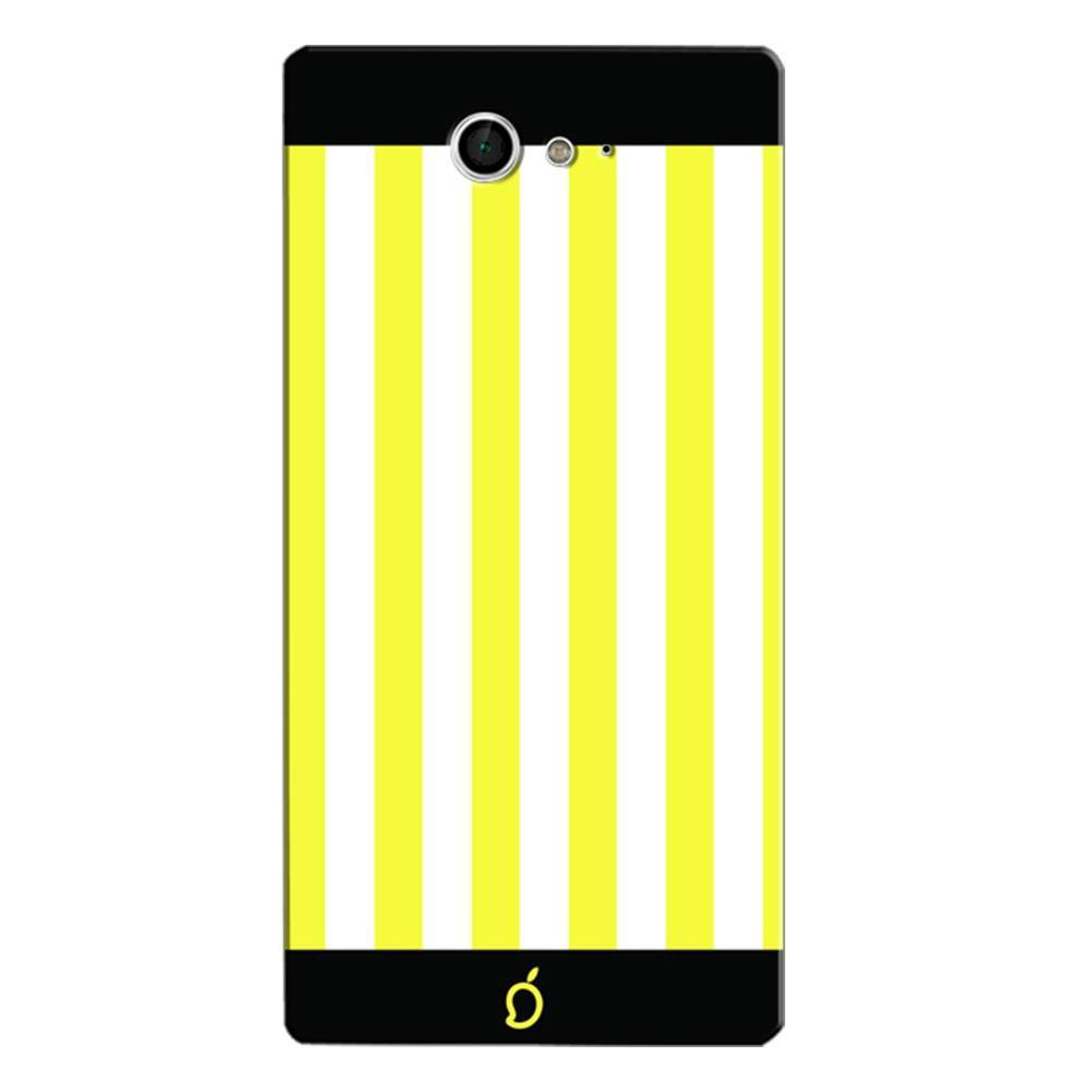 huge selection of a15d6 e83de Mangomask Sony Xperia M2 Mobile Phone Case Back Cover Custom Printed Neon  Series Corn Yellow Striped Seven