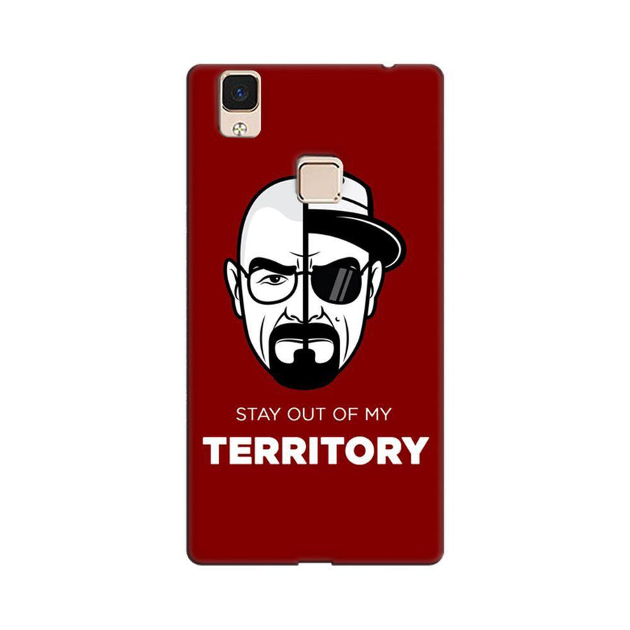 bd41d3bba Mangomask Vivo V3 Max Mobile Phone Case Back Cover Custom Printed Designer  Series Breaking Bad Two
