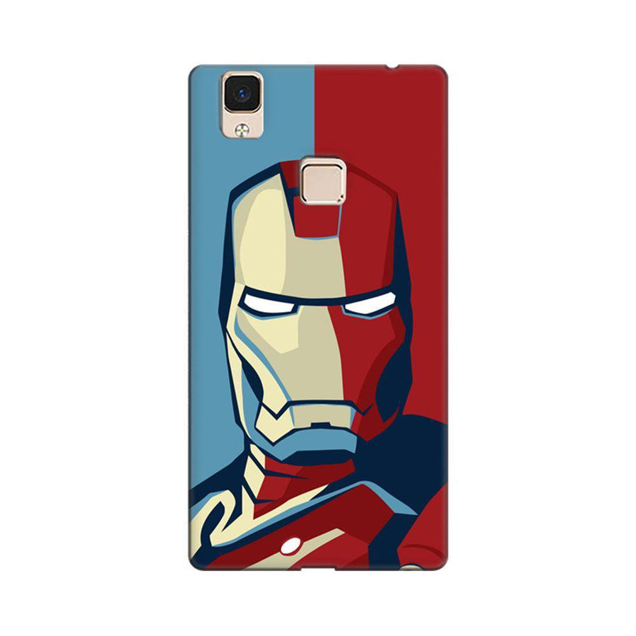 2fe525fbf Mangomask Vivo V3 Max Mobile Phone Case Back Cover Custom Printed Designer  Series Comic Iron Man