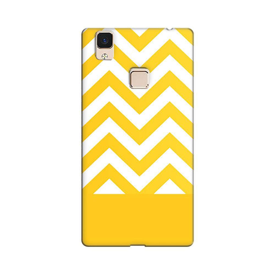 fc36fa635 Mangomask Vivo V3 Max Mobile Phone Case Back Cover Custom Printed Designer  Series Yellow White Pattern