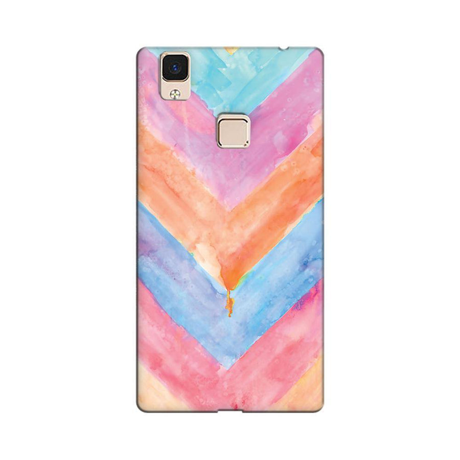 df0762a92 Mangomask Vivo V3 Max Mobile Phone Case Back Cover Custom Printed Designer  Series Colorful Stripes Two