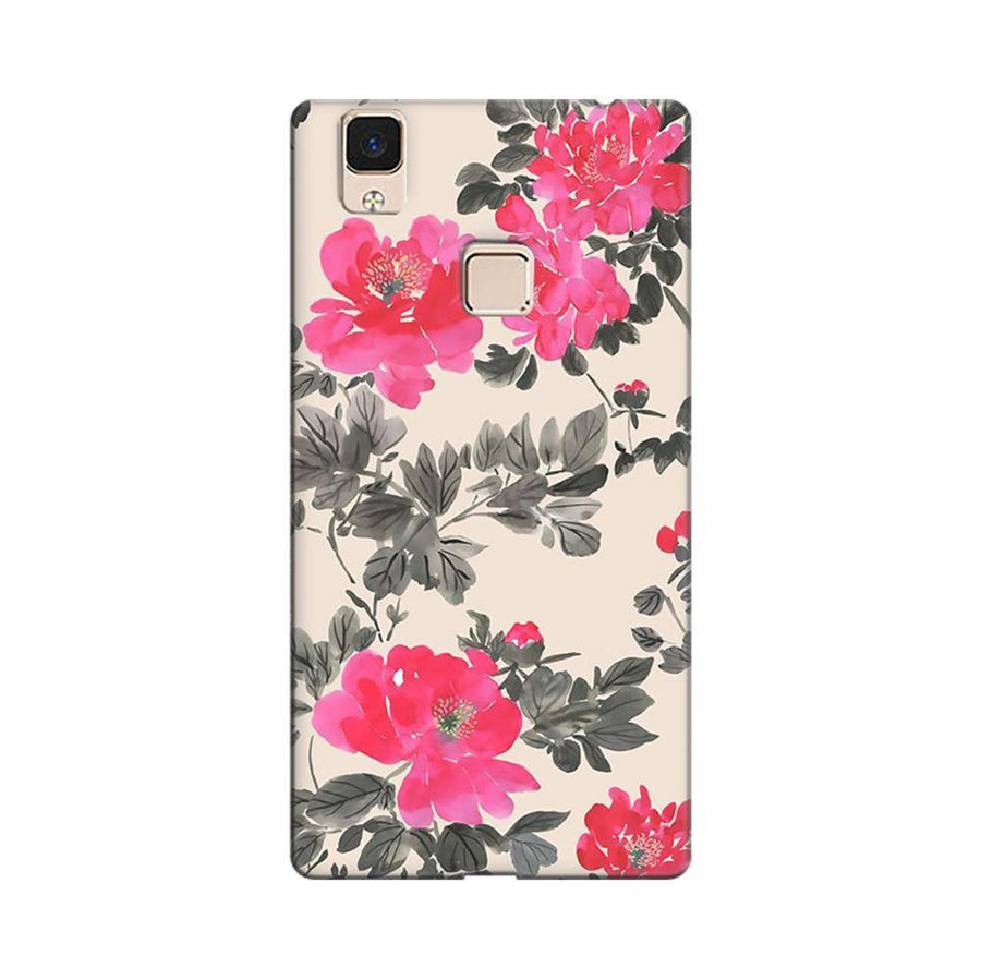 5e187e8c1 Mangomask Vivo V3 Max Mobile Phone Case Back Cover Custom Printed Designer  Series Pink And Black