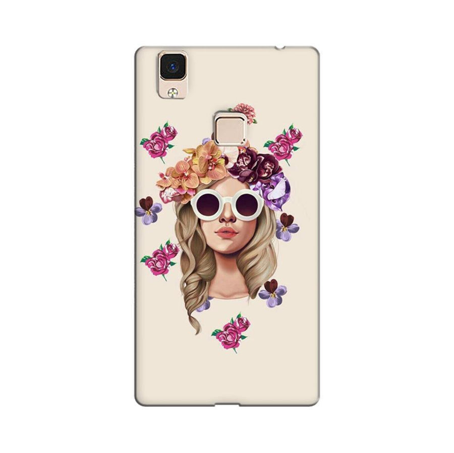 1d1c7ac4b Mangomask Vivo V3 Max Mobile Phone Case Back Cover Custom Printed Designer  Series Cool Babe