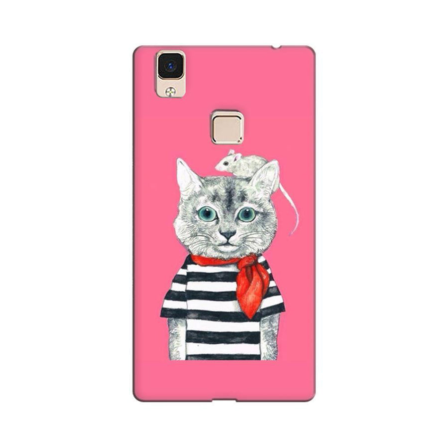 0877f6a1b Mangomask Vivo V3 Max Mobile Phone Case Back Cover Custom Printed Designer  Series Hello Kitti Pink