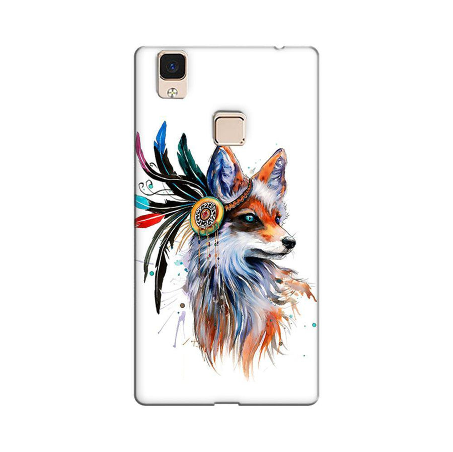 565fc11af Mangomask Vivo V3 Max Mobile Phone Case Back Cover Custom Printed Designer  Series Beautiful Fox