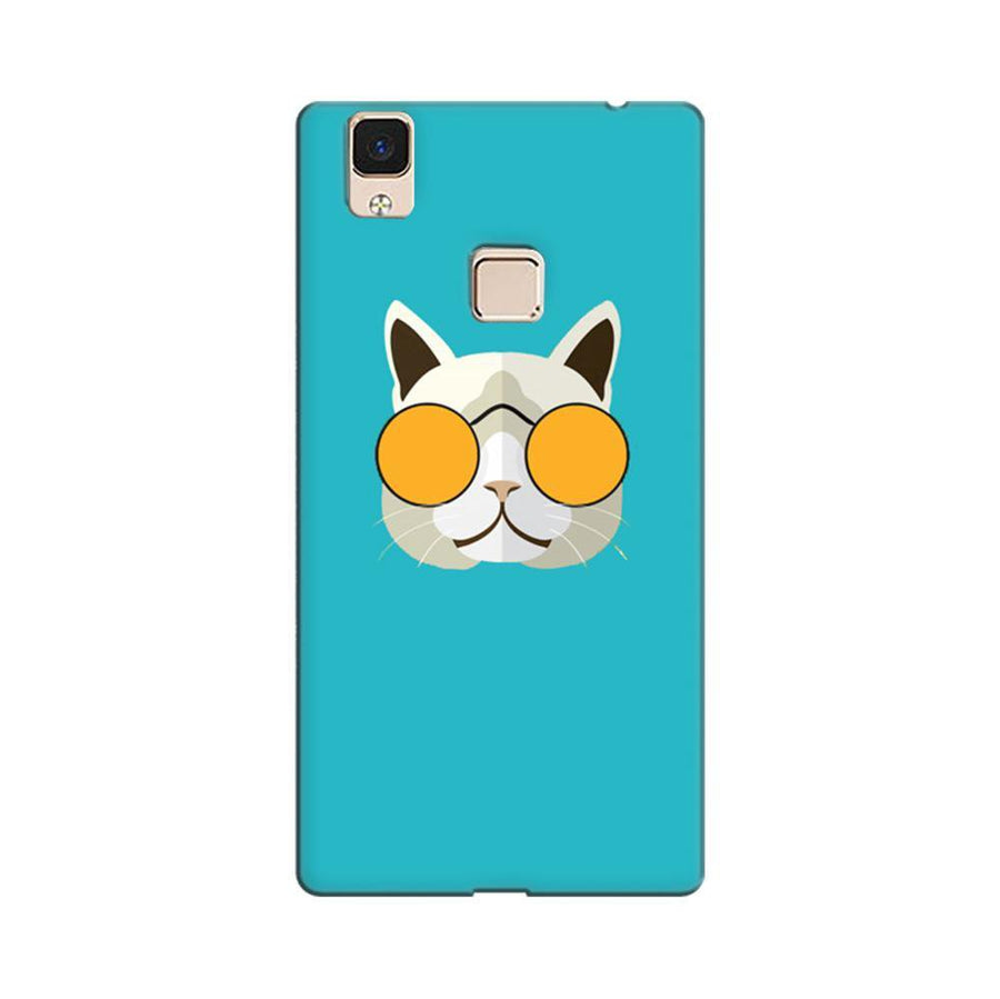 f17763469 Mangomask Vivo V3 Max Mobile Phone Case Back Cover Custom Printed Designer  Series Hello Kitty Blue