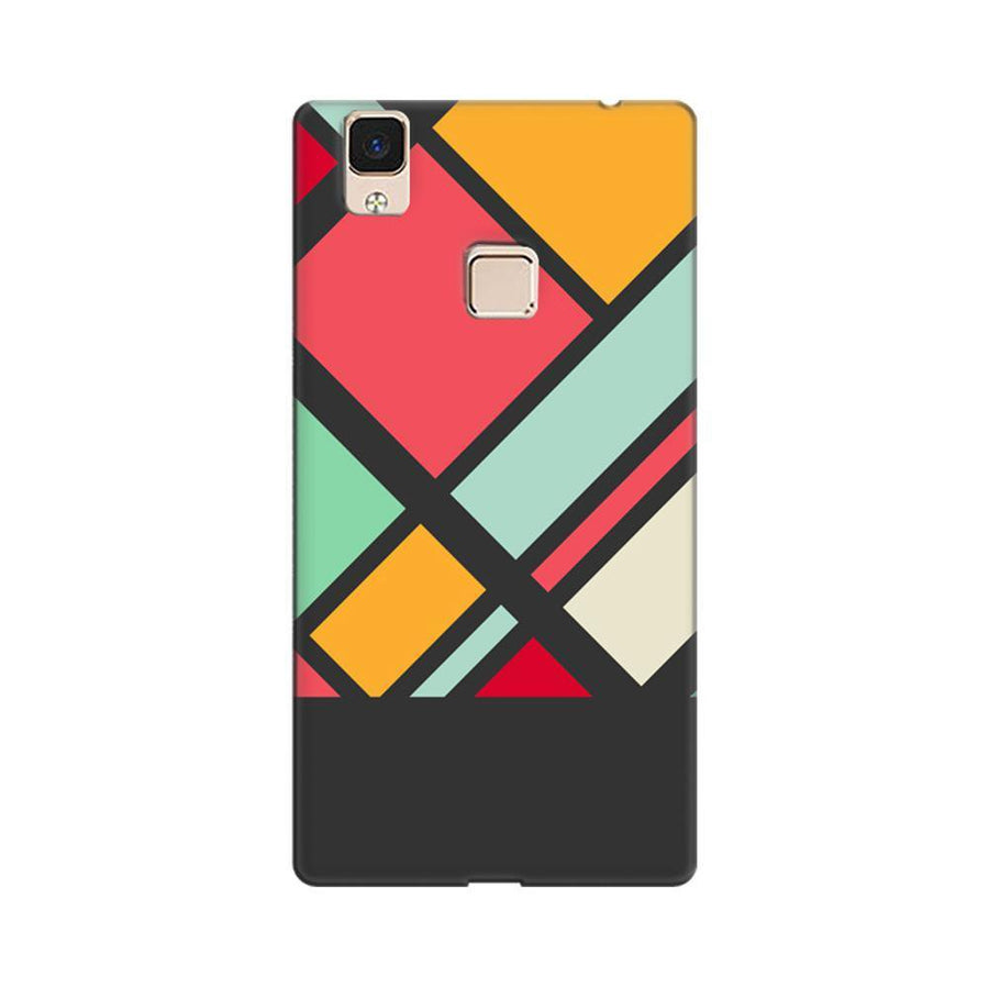 2dea8cc0b Mangomask Vivo V3 Max Mobile Phone Case Back Cover Custom Printed Designer  Series Colorful Diamonds