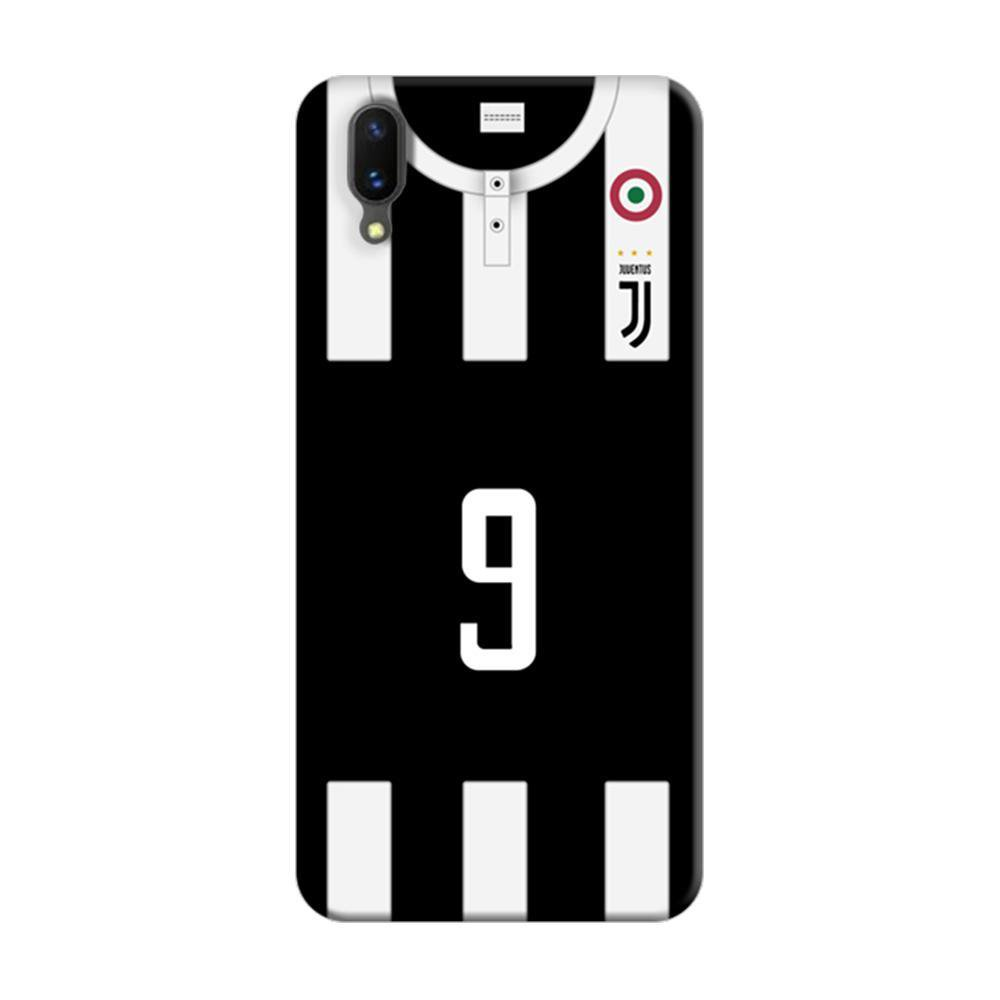 on sale 4263d 9edf0 Mangomask Vivo X21 Mobile Phone Case Back Cover Custom Printed Designer  Series Juventus 9 Jersey