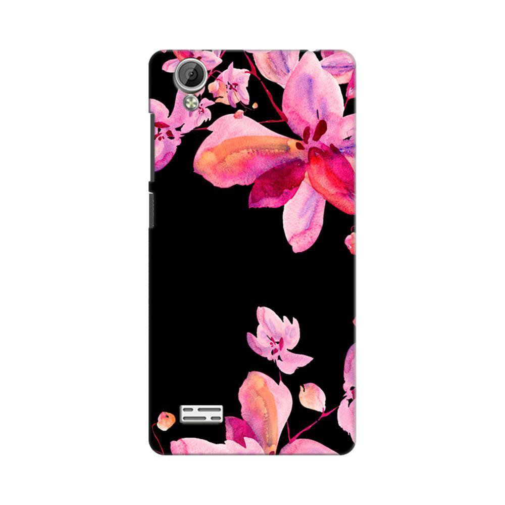 info for 55257 96f95 Mangomask Vivo Y31L Mobile Phone Case Back Cover Custom Printed Designer  Series Black And Pink Floral Two