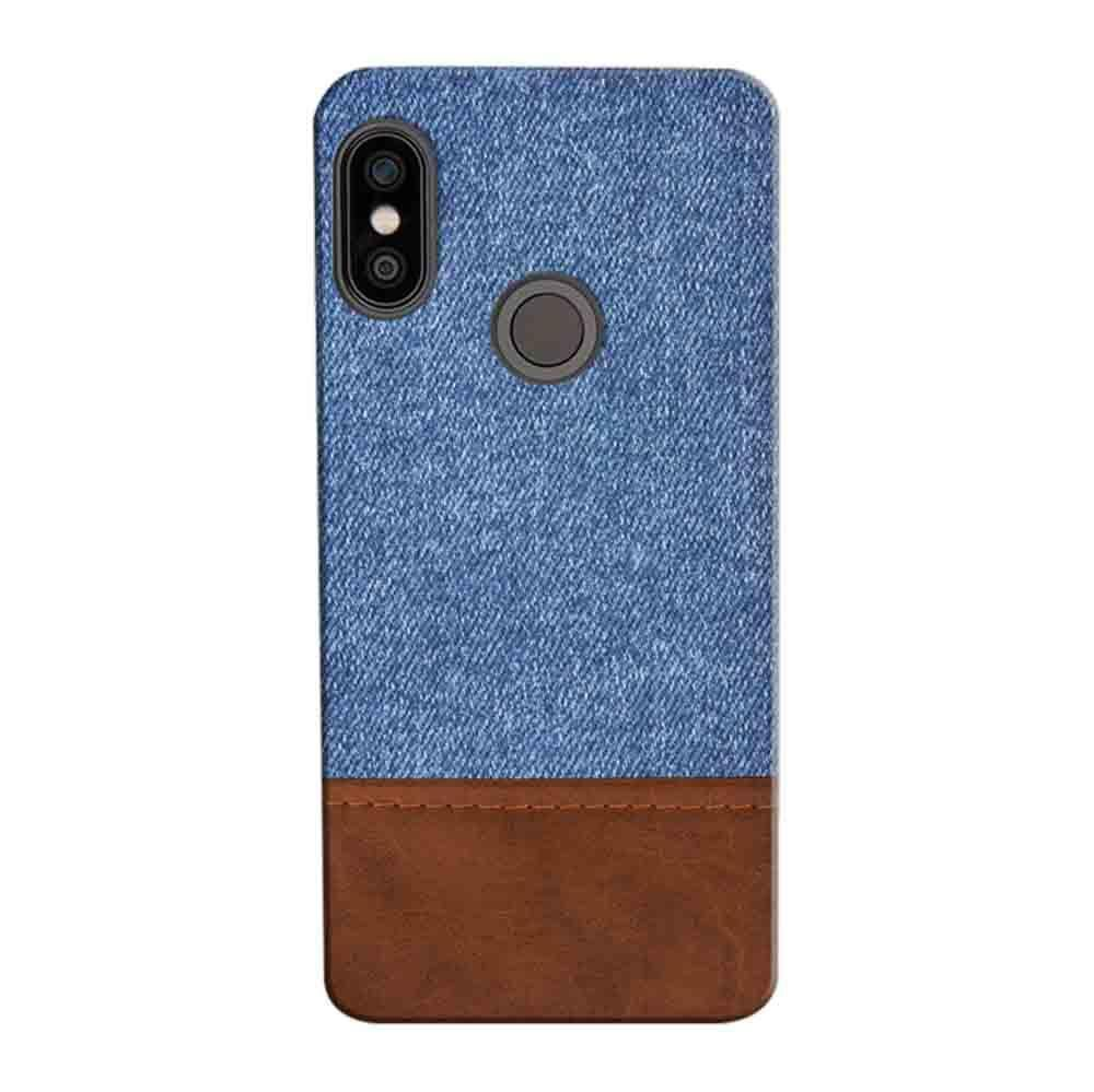 new styles cdeb9 11973 Mangomask Xiaomi Redmi Y2 Mobile Phone Case Back Cover Custom Printed  Designer Series Blue Leather Jeans