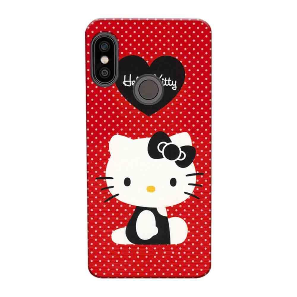 huge selection of 9a21d 53ea8 Mangomask Xiaomi Redmi Y2 Mobile Phone Case Back Cover Custom Printed  Designer Series Hello Kitty Red