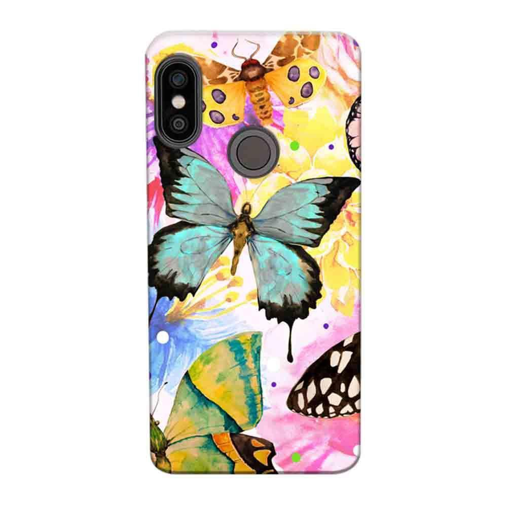 sale retailer 005ac bcd1b Mangomask Xiaomi Redmi Y2 Mobile Phone Case Back Cover Custom Printed  Designer Series Butterfly Floral