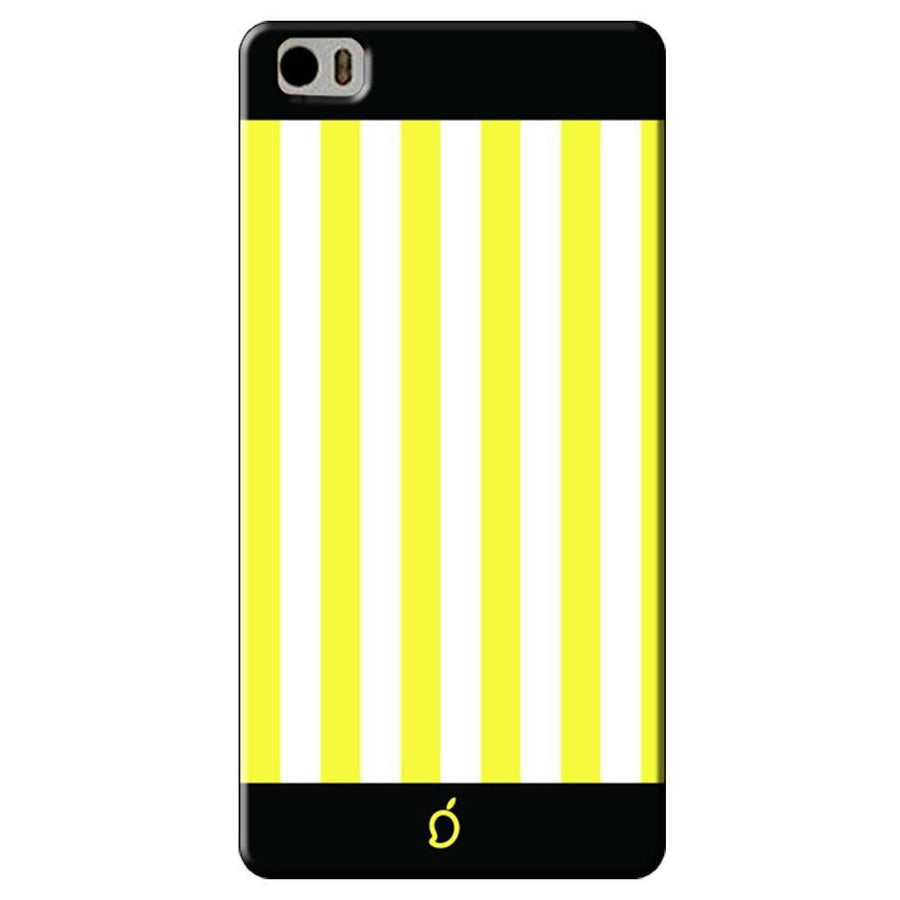 Mangomask Xiaomi Mi 5 Mobile Phone Case Back Cover Custom Printed Neon Series Corn Yellow Striped Seven