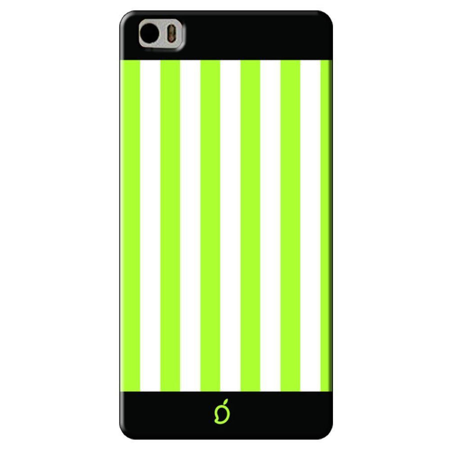 Mangomask Xiaomi Mi 5 Mobile Phone Case Back Cover Custom Printed Neon Series Inchworm Green Striped Seven