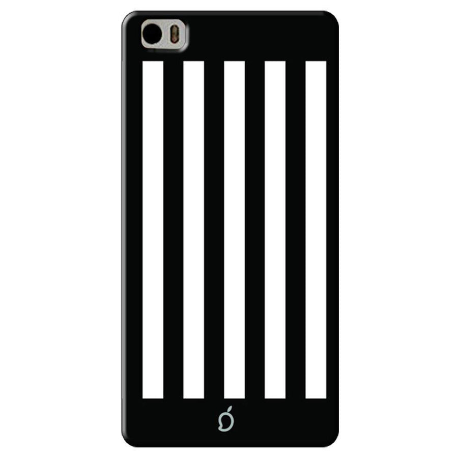 Mangomask Xiaomi Mi 5 Mobile Phone Case Back Cover Custom Printed Neon Series Black Striped Seven