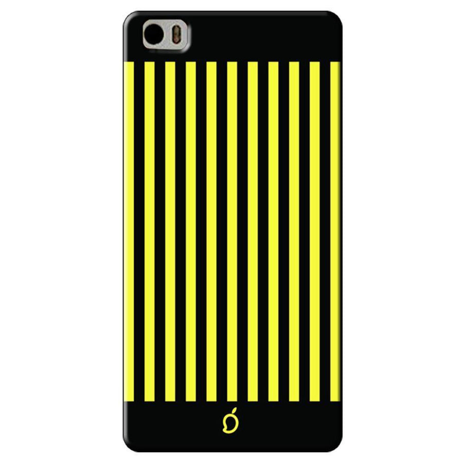 Mangomask Xiaomi Mi 5 Mobile Phone Case Back Cover Custom Printed Neon Series Corn Yellow Striped Eight