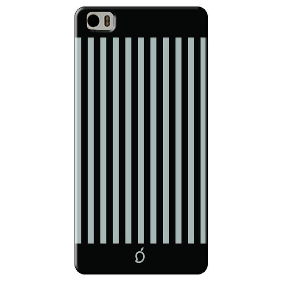Mangomask Xiaomi Mi 5 Mobile Phone Case Back Cover Custom Printed Neon Series Dark Gray Striped Eight