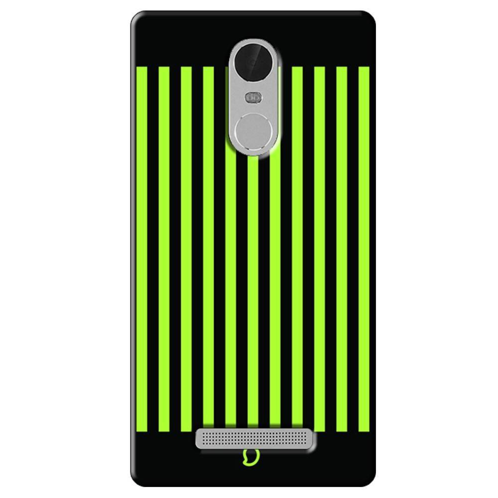 official photos fef24 138ee Mangomask Xiaomi Redmi Note 3 Mobile Phone Case Back Cover Custom Printed  Neon Series Inchworm Green Striped Eight
