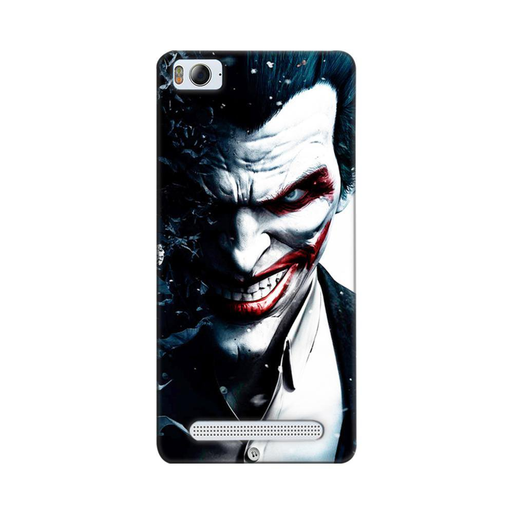 new product 1fa9a ef1fd Mangomask Xiaomi Mi 4i Mobile Phone Case Back Cover Custom Printed Designer  Series Red Eye Joker