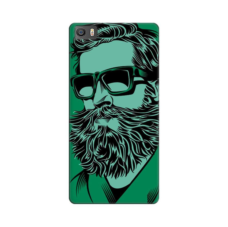 Mangomask Xiaomi Mi 5  Mobile Phone Case Back Cover Custom Printed Designer Series Green Hipster