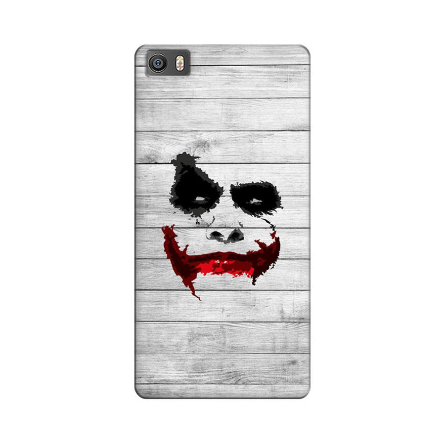 Mangomask Xiaomi Mi 5  Mobile Phone Case Back Cover Custom Printed Designer Series Joker Smile