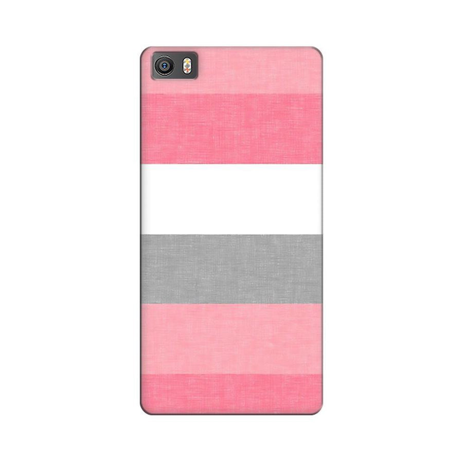 Mangomask Xiaomi Mi 5  Mobile Phone Case Back Cover Custom Printed Designer Series Colorful Pink Stripes