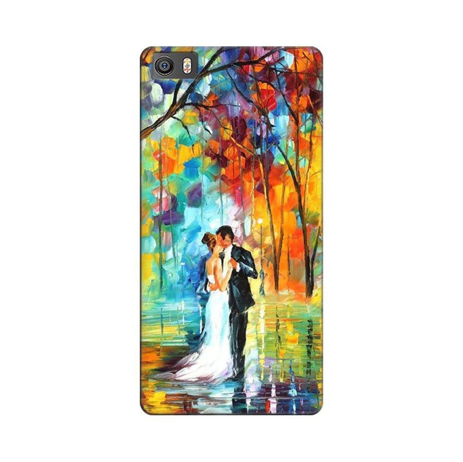 Mangomask Xiaomi Mi 5  Mobile Phone Case Back Cover Custom Printed Designer Series Couple Dance Painting