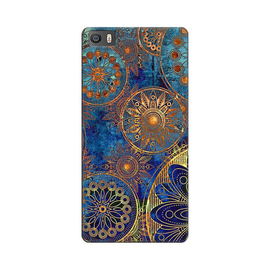 Mangomask Xiaomi Mi 5  Mobile Phone Case Back Cover Custom Printed Designer Series Aqua Chakra Pattern