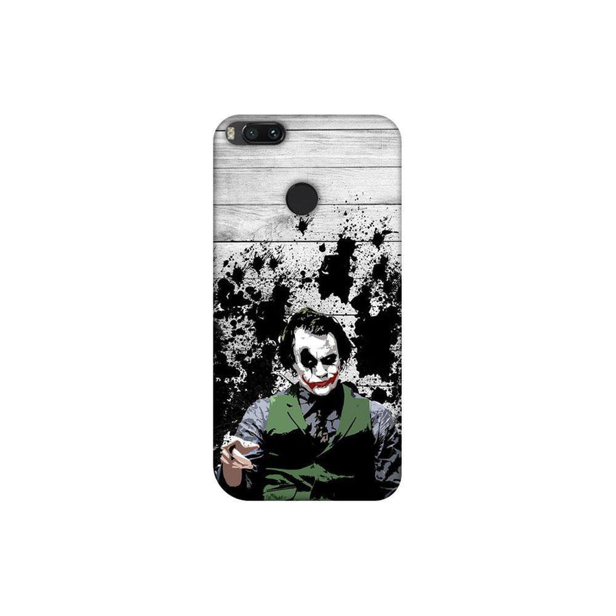 Mangomask Xiaomi Mi A1 (5X) Mobile Phone Case Back Cover Custom Printed Designer Series Joker The Dark Knight