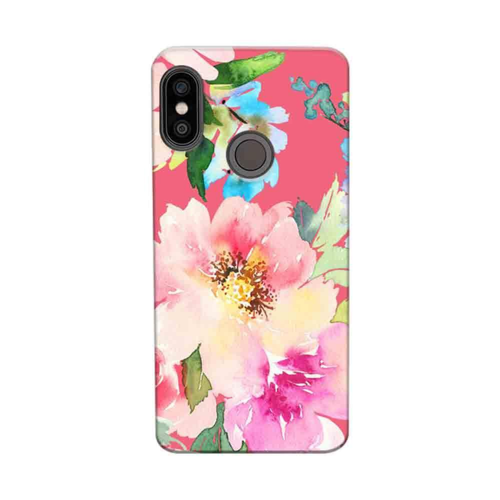 reputable site 451b6 ce00c Mangomask Xiaomi Mi A2 Mobile Phone Case Back Cover Custom Printed Designer  Series Spring Floral