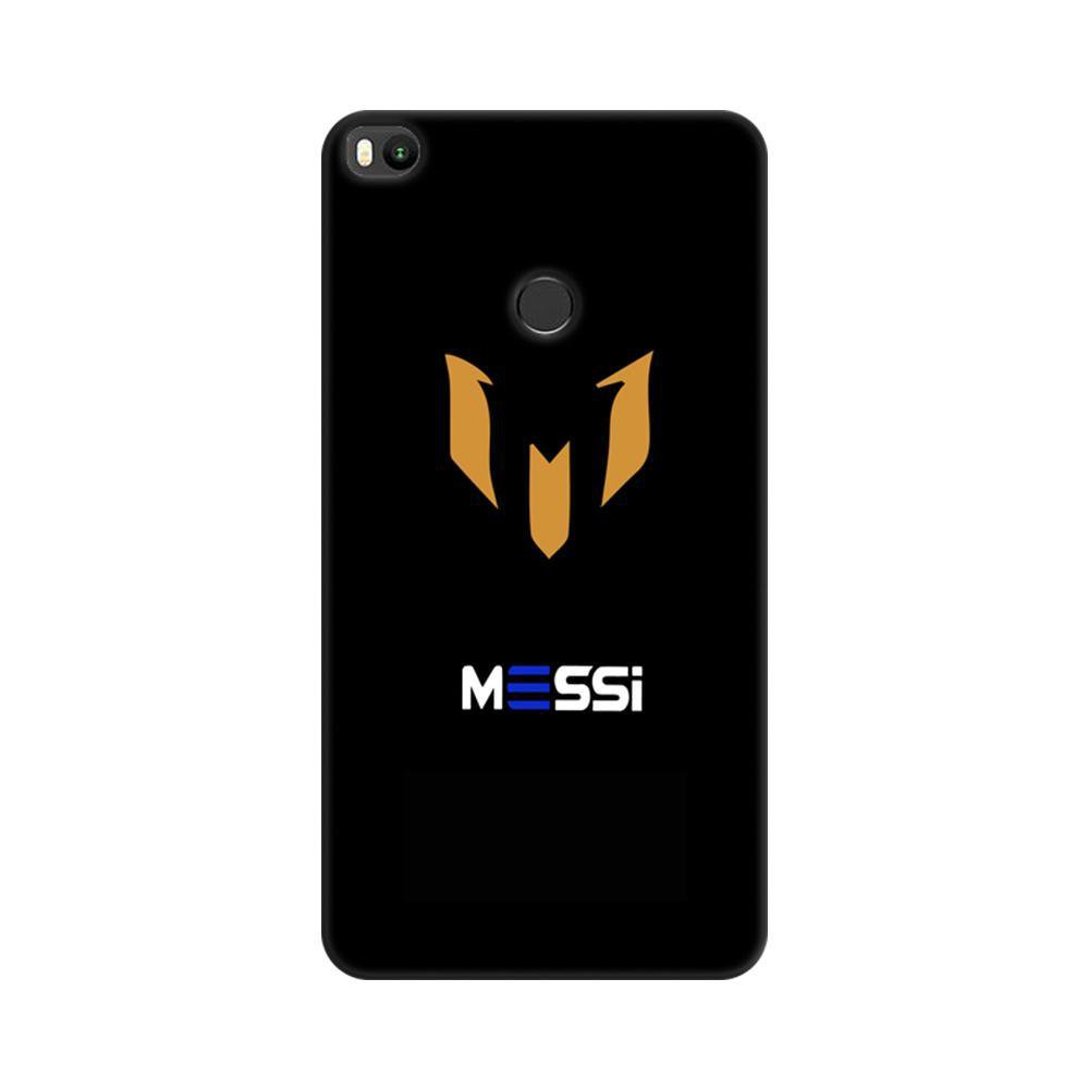 on sale 26c01 321c9 Mangomask Xiaomi Mi Max 2 Mobile Phone Case Back Cover Custom Printed  Designer Series Soccer Messi Two