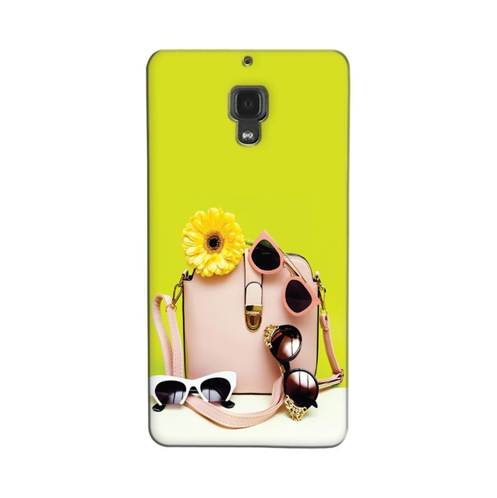 Xiaomi Redmi 1s Mobile Phone Cases And Back Covers Grey Mangomask Case Cover Custom Printed Designer Series Cute Hand Bag
