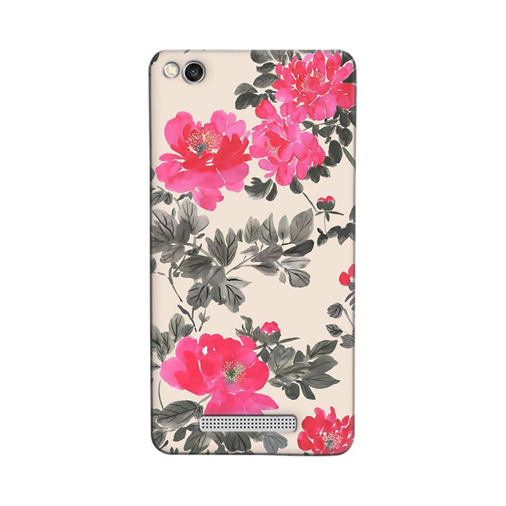 sports shoes 2735f c9c40 Mangomask Xiaomi Redmi 3s Mobile Phone Case Back Cover Custom Printed  Designer Series Pink And Black Floral