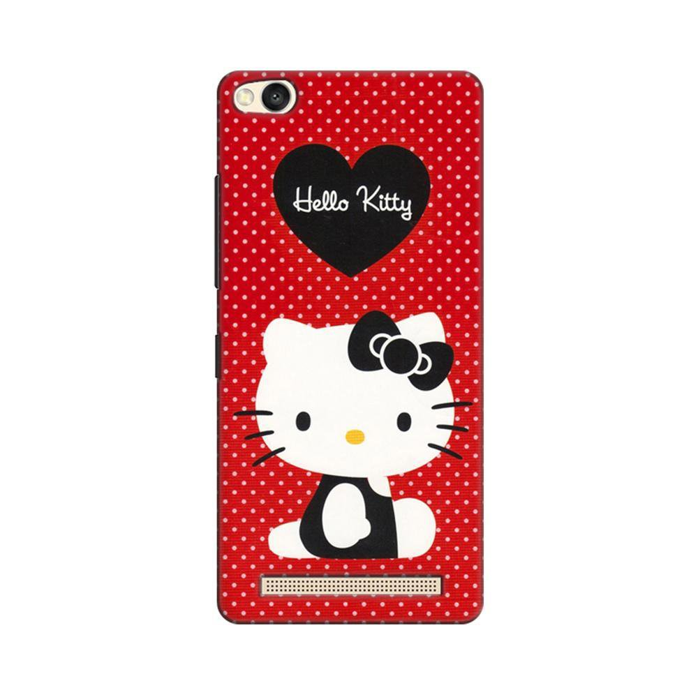 promo code 62589 b8365 Mangomask Xiaomi Redmi 4A Mobile Phone Case Back Cover Custom Printed  Designer Series Hello Kitty Red