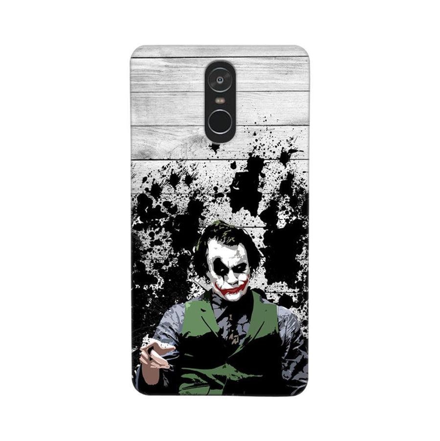 Mangomask Xiaomi Redmi Note 4 Mobile Phone Case Back Cover Custom Printed Designer Series Joker The Dark Knight