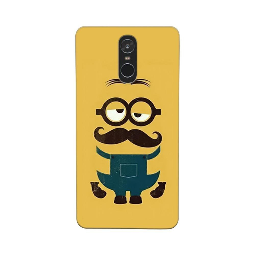 huge discount f3269 ead98 Mangomask Xiaomi Redmi Note 4 Mobile Phone Case Back Cover Custom Printed  Designer Series Hipsters Minions Two Despicable Me