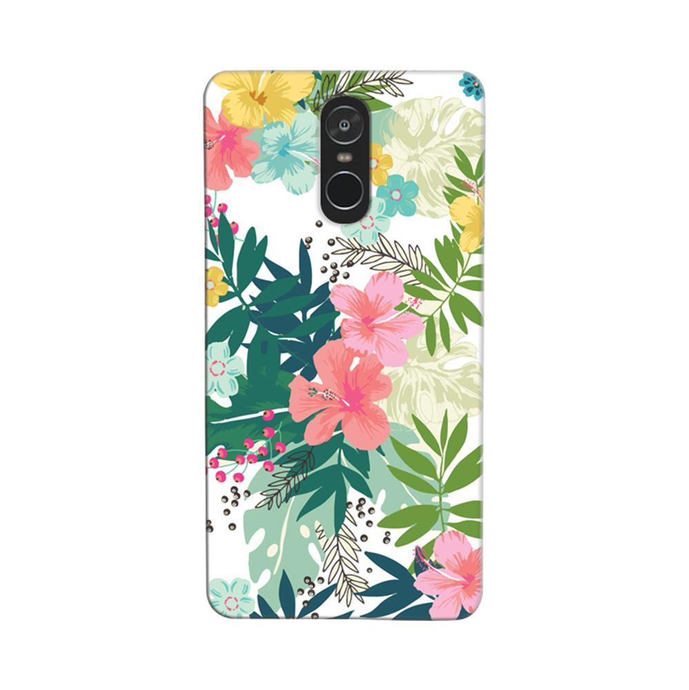 official photos 348f6 bd8c7 Mangomask Xiaomi Redmi Note 4 Mobile Phone Case Back Cover Custom Printed  Designer Series Best Floral Pattern Two