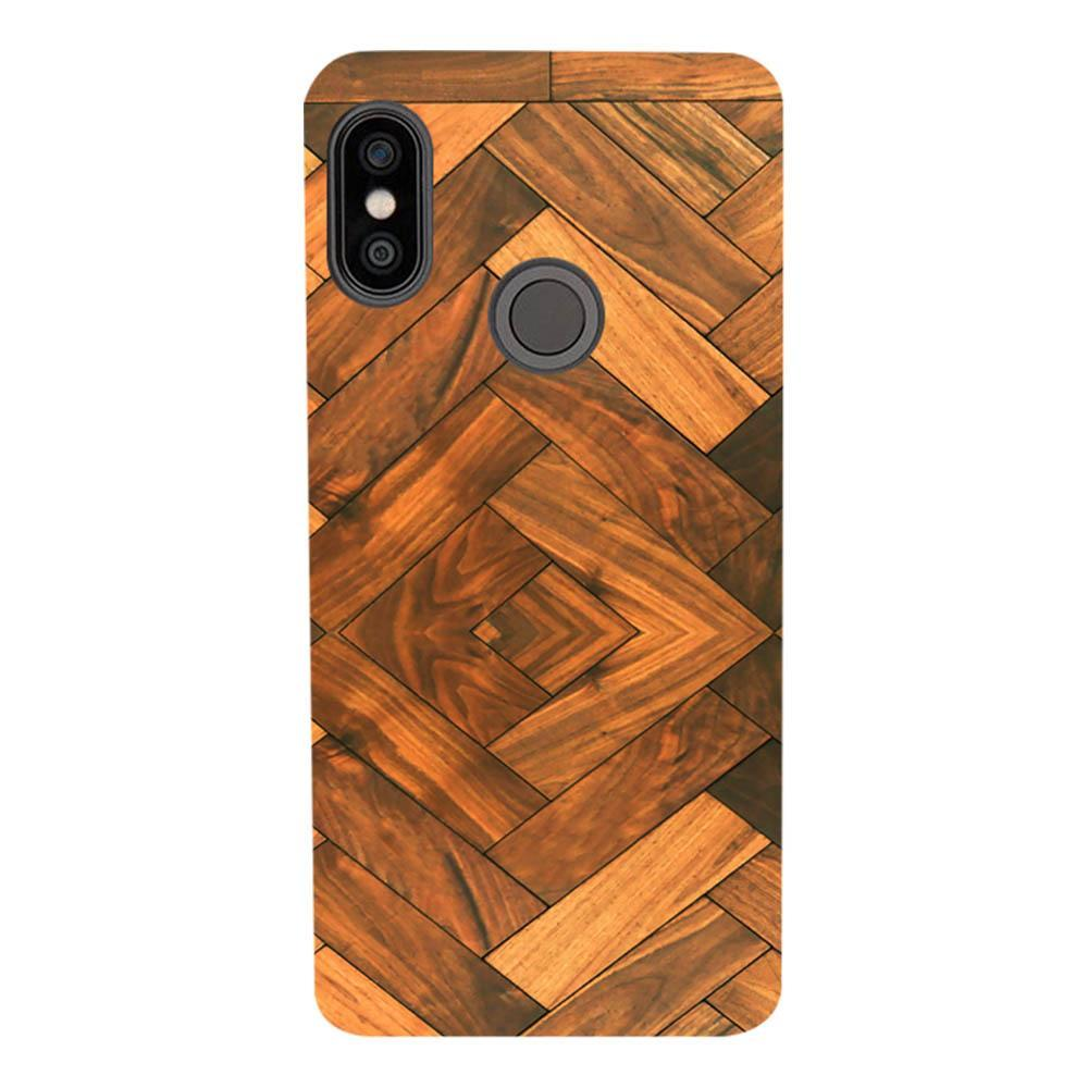 newest 11cf3 c1905 Mangomask Xiaomi Redmi Note 5 Pro Mobile Phone Case Back Cover Custom  Printed Designer Series Antique Walnut Wood