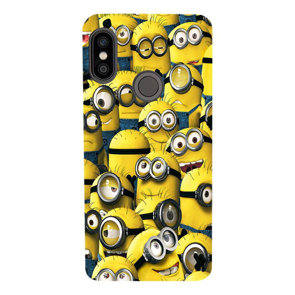 info for 3af63 2b7aa Mangomask Xiaomi Redmi Note 5 Pro Mobile Phone Case Back Cover Custom  Printed Designer Series Funny Minions Despicable Me