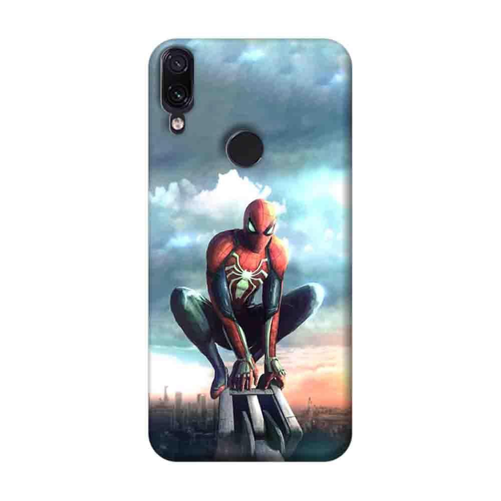 buy online dd609 d7227 Mangomask Xiaomi Redmi Note 7 Pro Mobile Phone Case Back Cover Custom  Printed Designer Series Spiderman 02