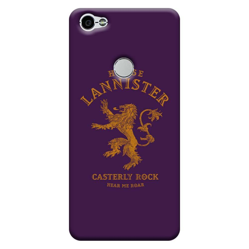reputable site 7c822 50633 Mangomask Xiaomi Redmi Y1 Mobile Phone Case Back Cover Custom Printed  Designer Series Casterly Rock Game Of Thrones (Got) House Lannister