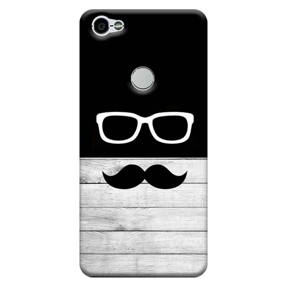 huge selection of 7b0fc 88f16 Mangomask Xiaomi Redmi Y1 Mobile Phone Case Back Cover Custom Printed  Designer Series Black And White Hipster