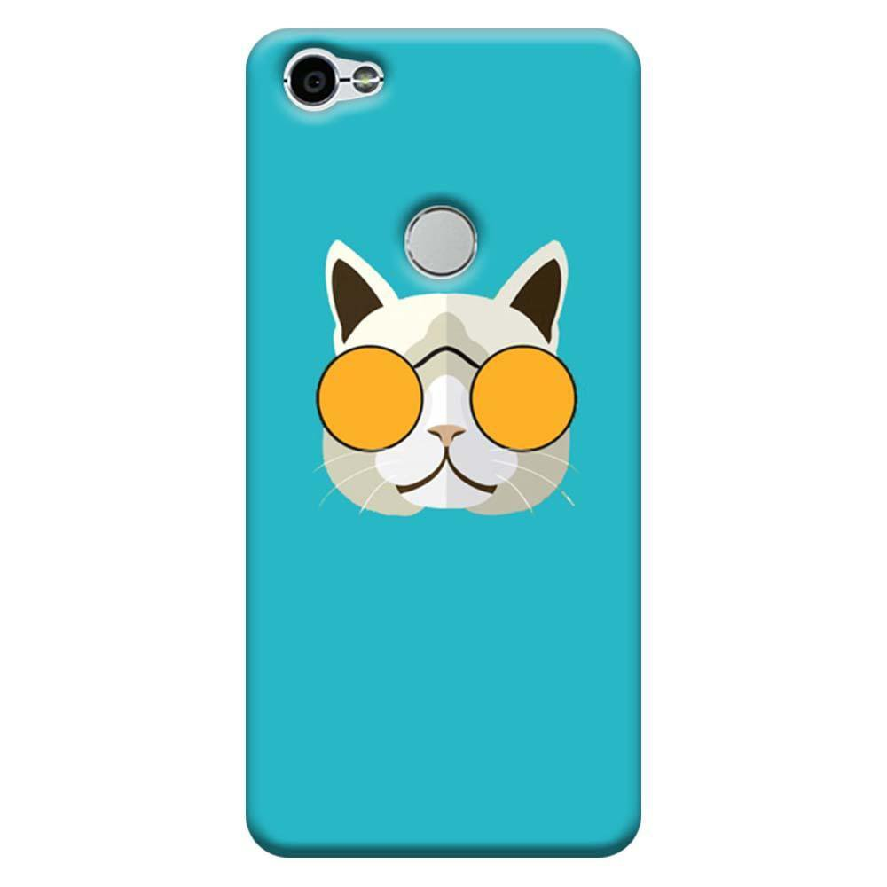on sale df8c0 d12a7 Mangomask Xiaomi Redmi Y1 Mobile Phone Case Back Cover Custom Printed  Designer Series Hello Kitty Blue