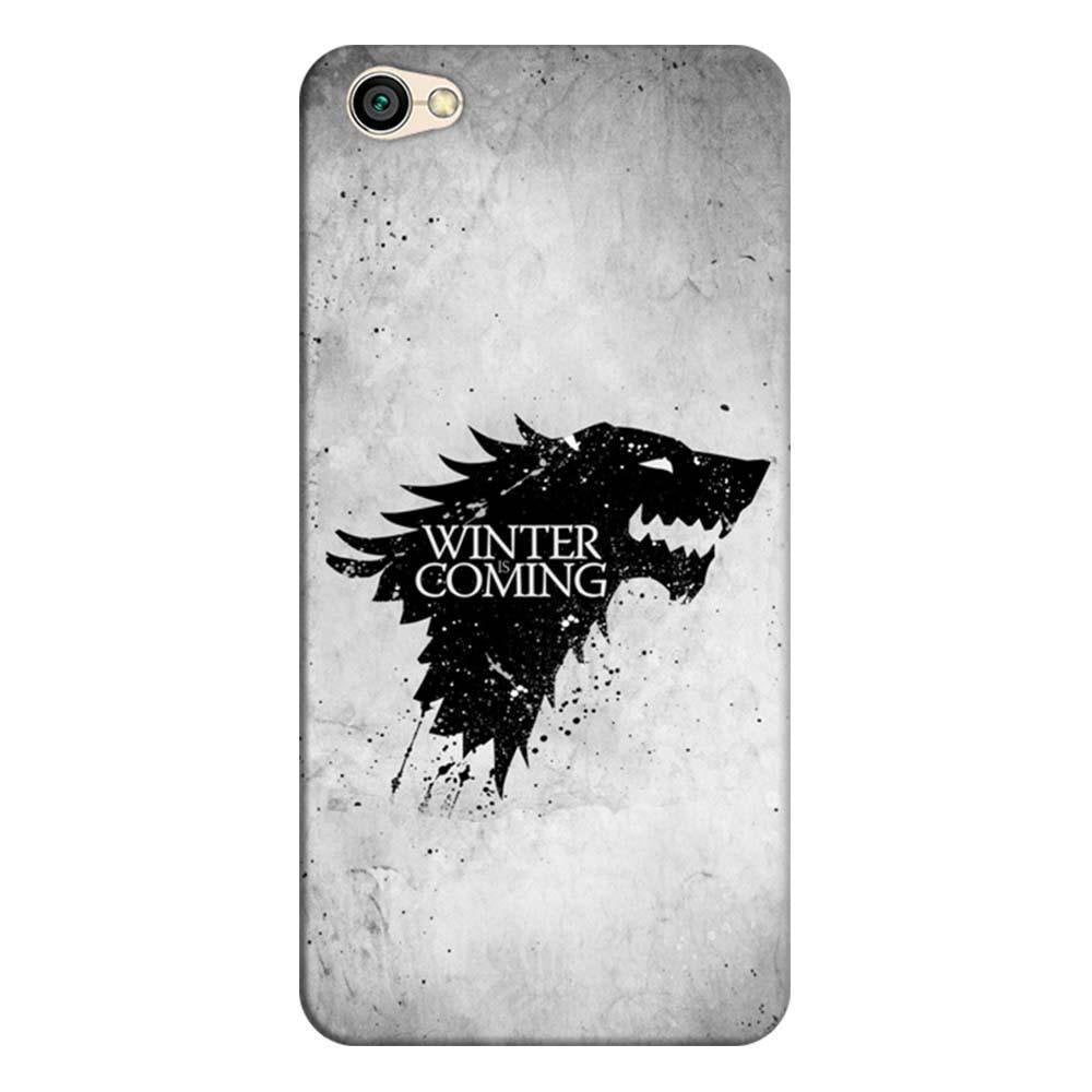 premium selection 782be f572f Mangomask Xiaomi Redmi Y1 Lite Mobile Phone Case Back Cover Custom Printed  Designer Series White Winter Is Coming Game Of Throne (Got) House Stark
