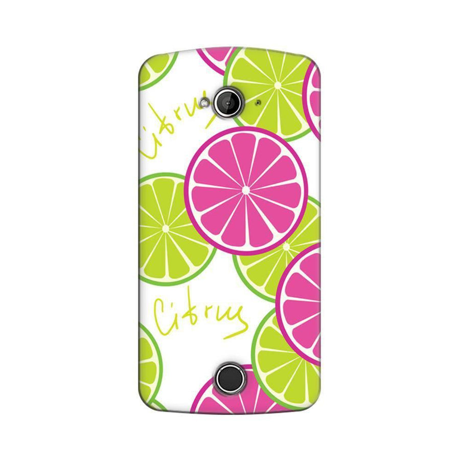 Acer Liquid Z530 Mangomask Acer Liquid Z530 Mobile Phone Case Back Cover Custom Printed Designer Series Green And Pink Citrus