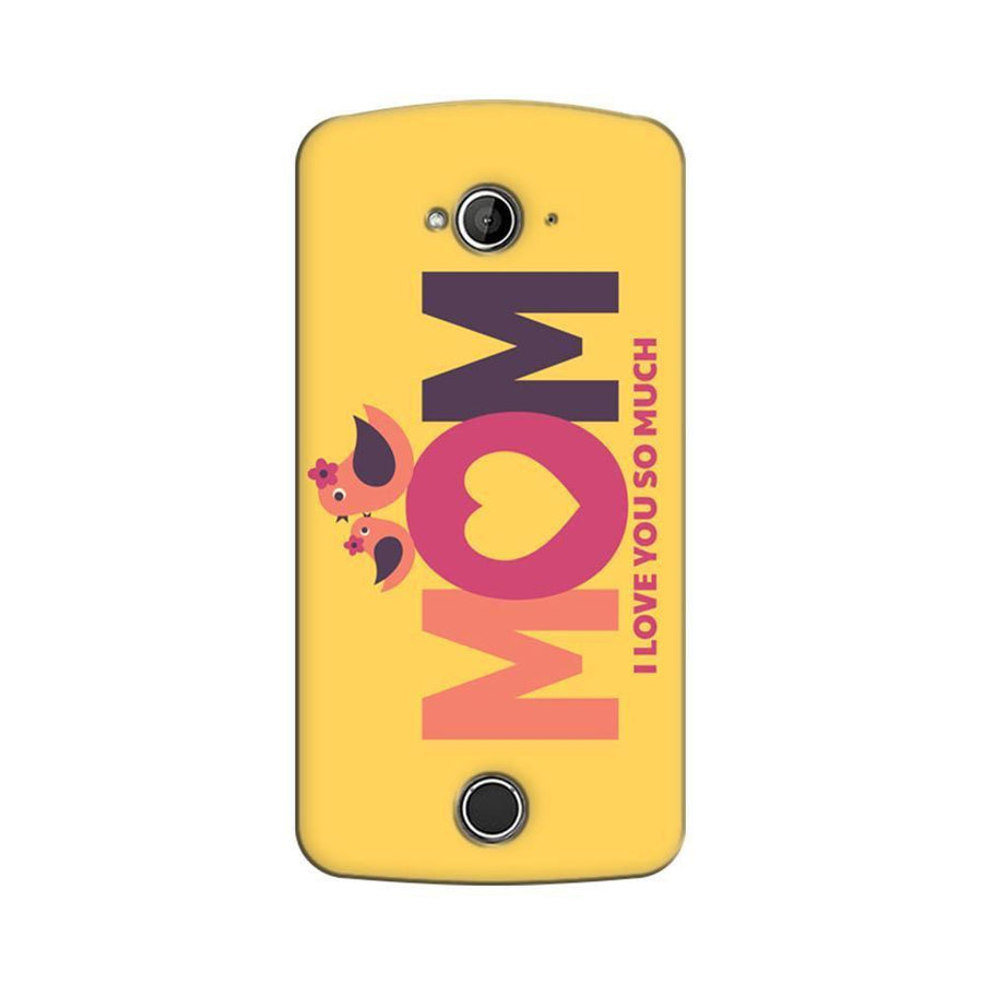 Acer Liquid Z530 Mangomask Acer Liquid Z530 Mobile Phone Case Back Cover Custom Printed Designer Series Happy Mothers Day Mom I Love You So Much