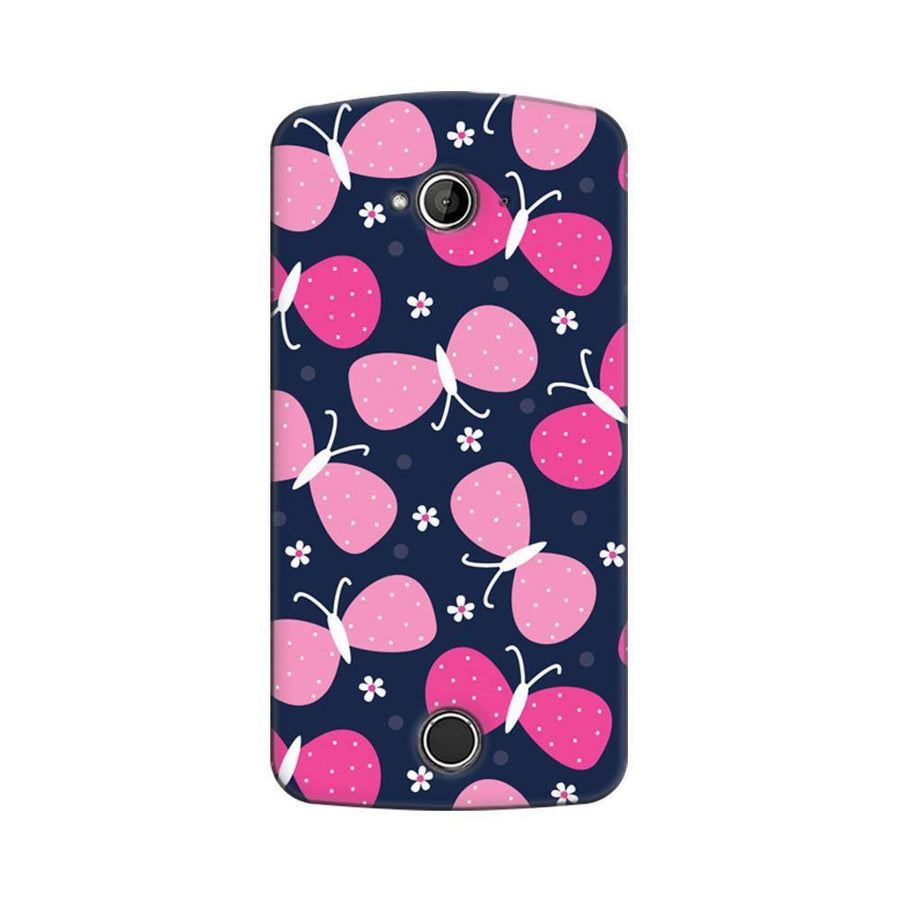 Acer Liquid Z530 Mangomask Acer Liquid Z530 Mobile Phone Case Back Cover Custom Printed Designer Series Pink Butterflies