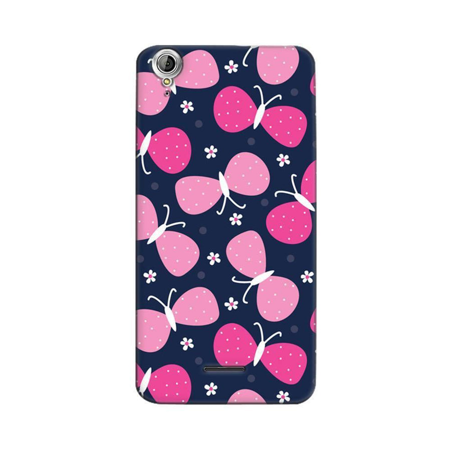 Acer Liquid Z630 Mangomask Acer Liquid Z630 Mobile Phone Case Back Cover Custom Printed Designer Series Pink Butterflies